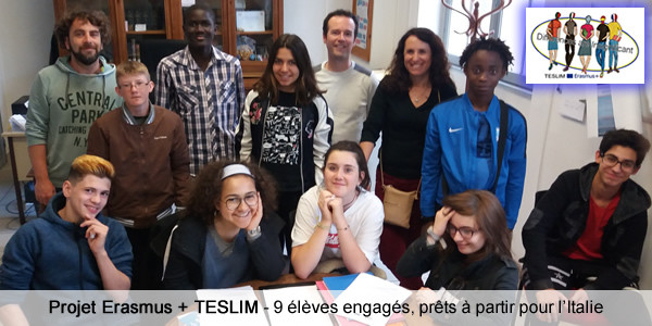 TESLIM Erasmus + Project - France