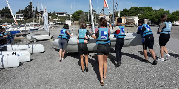 Projet Internat - Initiation au Catamaran