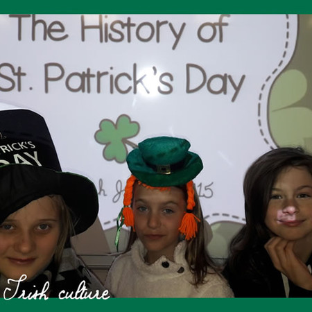 St Patrick's day - Victor Hugo School - 6ème 2018 - Photo:  Fanny Pérucho